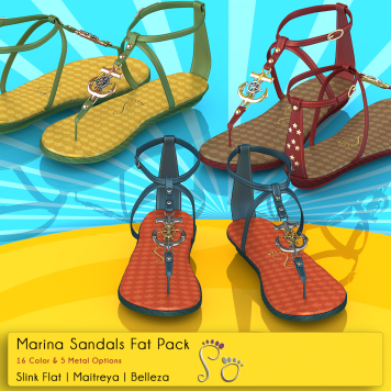 Slipper - Marina Sandals
