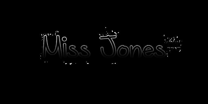 Miss Jones Logo