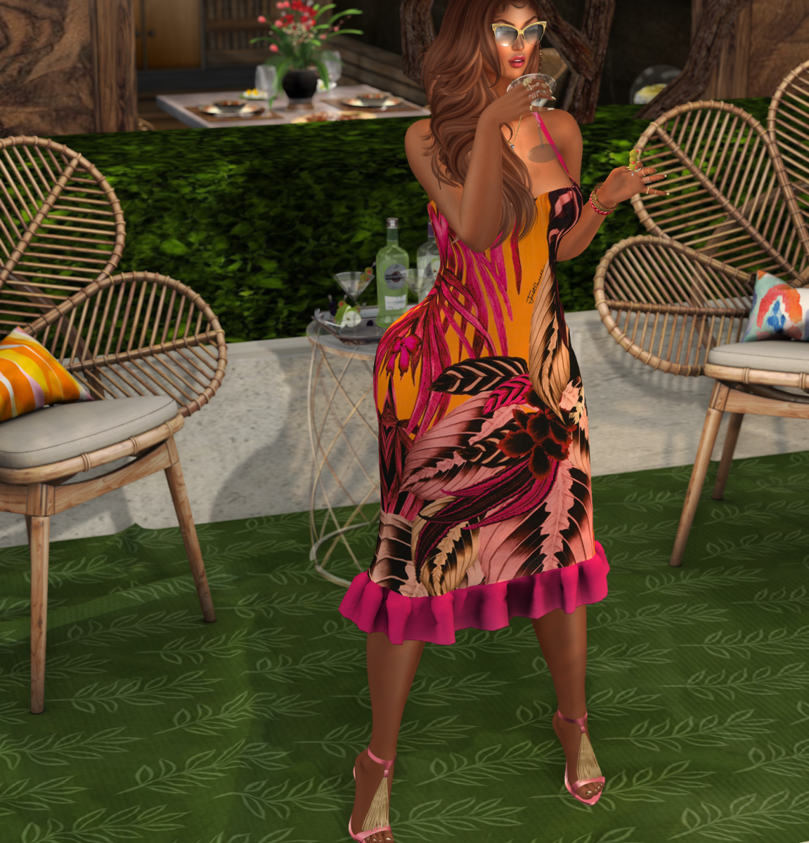 LEGENDAIRE @ Designer Showcase – Aisha Pencil Dress & Aisha Heels