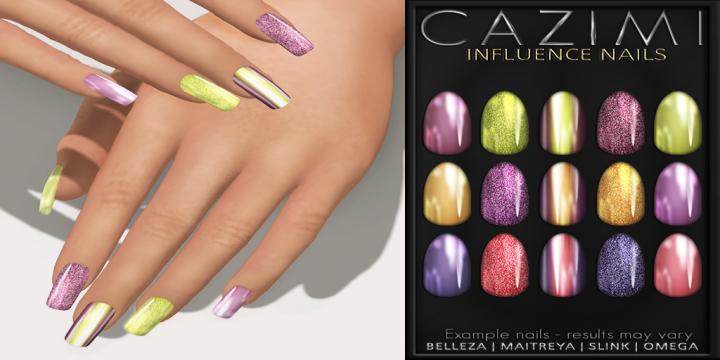 CAZIMI_ Influence Nails Ad 4x3